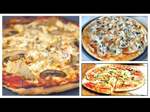 Вкуснейшее блюдо Готовим с Тинкой Пицца с курицей и грибами