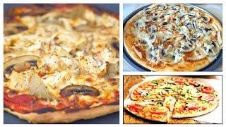 Готовим с Тинкой: Пицца с курицей и грибами