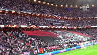 EL Final Ajax Amsterdam vs Manchester United 0:2 Choreo/Pyro/Support