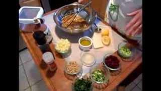 Wheat Berry Food Storage Salad