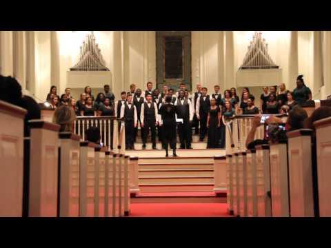 Collins Hill High School Advanced Mixed Chorus, LGPE concert, song 2