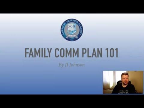 Family Communication Plan 101