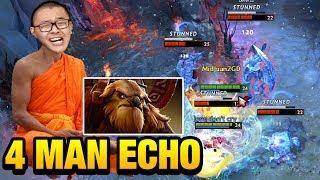 MidOne Dota 2 [Earthshaker] 4 Man Echo Slam Learn DOTA2 on GameLeap...