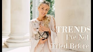 TRENDS I'VE NOT TRIED BEFORE // HOW TO HAVE THE CONFIDENCE TO TRY NEW STYLES  // FASHION MUMBLR