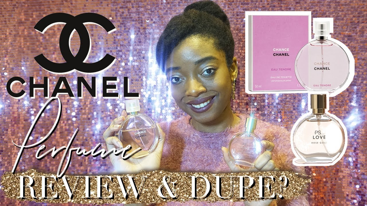 Chanel Chance Eau Tendre And Perfume Dupe Youtube