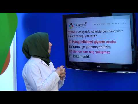 Görüntülü Akademi 6. Sınıf Türkçe (Soru Çözümleri)