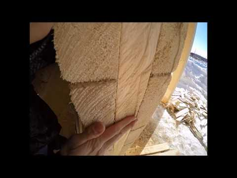 Как правильно установить пластиковое окно в деревянном доме видео