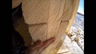 видео Установка стеклопакетов в деревянном доме своими руками