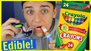 DIY Edible school supplies!