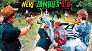 NERF meets Call of Duty ZOMBIES 3.0 | (Full Movie - Nerf First Person Shooter!)