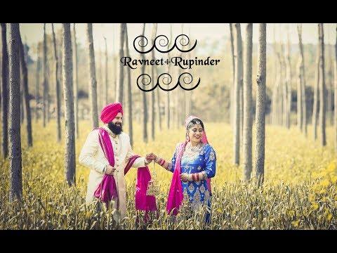 Ravneet and Rupinder    wedding highlights   NINDI