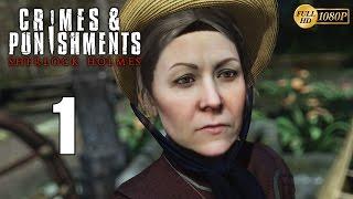 Sherlock Holmes Crimes & Punishments Walkthrough Parte 1 Gameplay Español PC 1080p