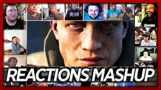 Battlefield 1 Official Reveal Trailer Reactions Mashup