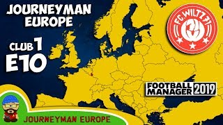 FM19 Journeyman - C1 EP10 - FC Wiltz 71 Luxembourg - A Football Manager 2019 Story