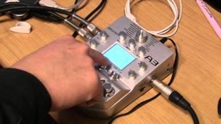 Zoom A3 Sound Test