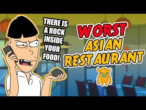 The World's Worst Asian Restaurant (crazy owner!)