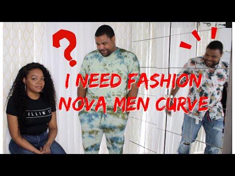 WIFE BUYS HUBBY $400 OF FASHION NOVA MEN CLOTHES
