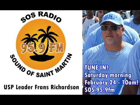 Interview on SOS Radio with Frans Richardson Leader of USParty Feb 24, 2018.