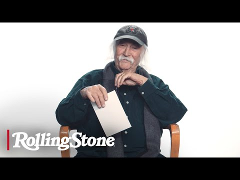 David Crosby Fields Questions About Prison, Infidelity and Living With a Trump Supporter | Ask Croz