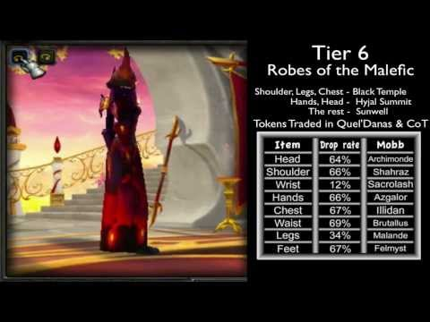 Warlock Gear, Tier Sets From 1 to 10 & Location Guide (World of Warcraft)