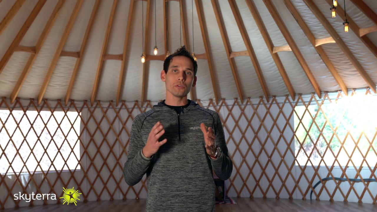 The Yoga Yurt: Slow Down and Care for Your Body    Skyterra