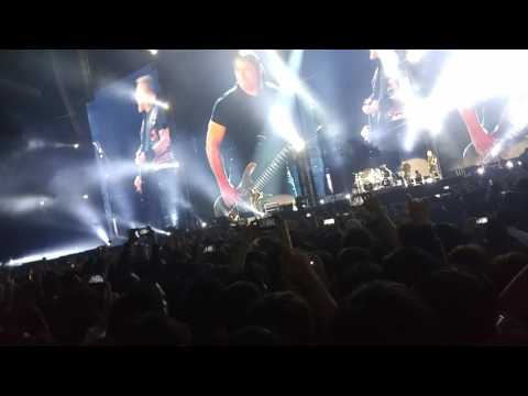 Metallica 1.11.2017 Worldwired Seoul Opening