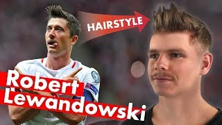 Robert Lewandowski Hairstyle - World Cup 2018 - Men's Hair Inspiration