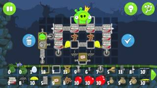 Bad Piggies - King Piggy flying his bomber (Field of Dreams)