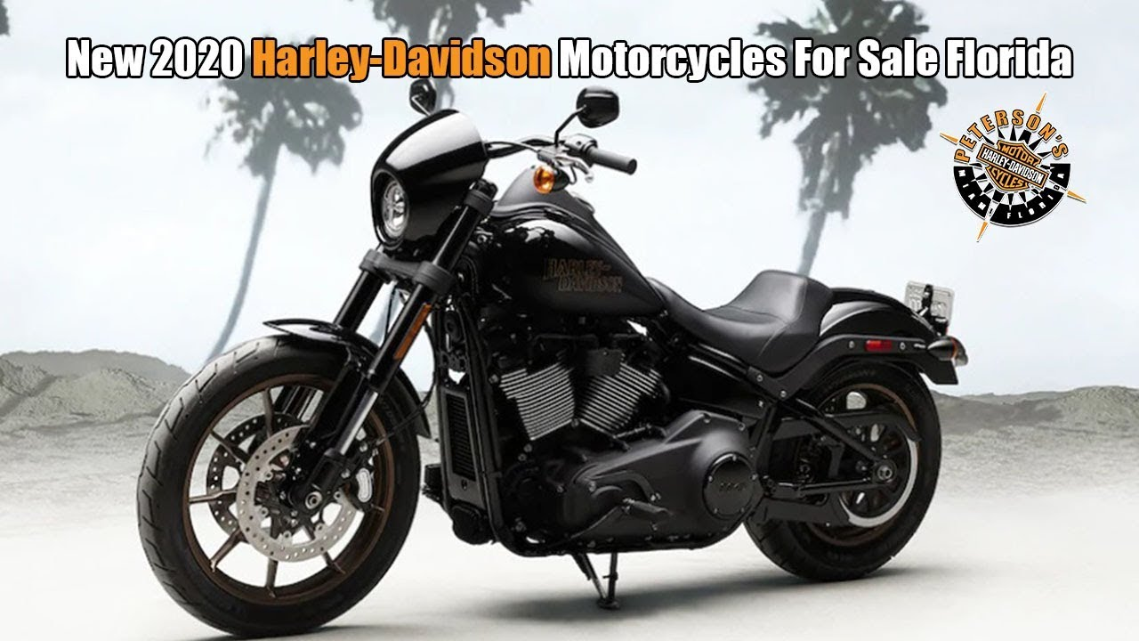 2020 Harley Davidson Low Rider S For Sale Florida - YouTube
