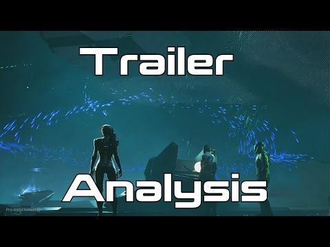 Mass Effect: Andromeda World Gameplay Premier REACTION AND ANALYSIS