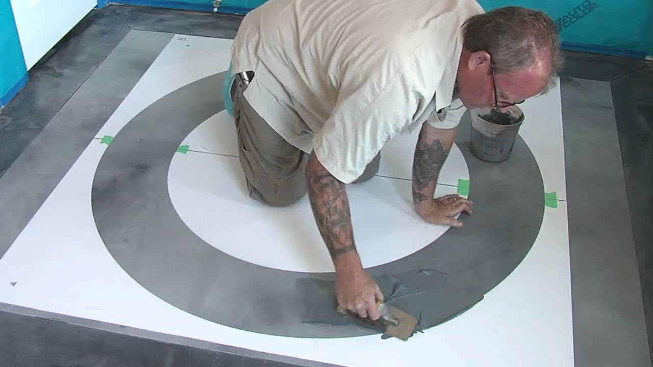 Stenciling Concrete- Where Are Stencils Used and How Are