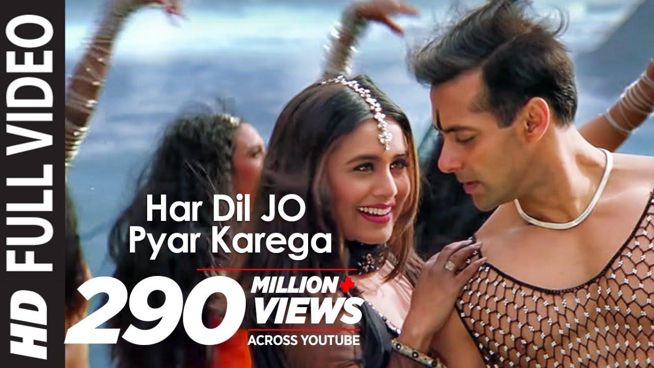 Download Full Video: Har Dil Jo Pyar Karega Title Song |Salman Khan,Rani Mukherjee |Udit Narayan, Alka Yagnik