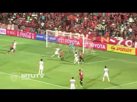 MTUTD.TV Highlight SCG Muangthong United  2-2 Osotspa -Thai Premier League - Round 18