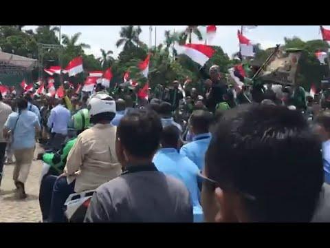 """Prabowo Bertemu Komunitas Pengemudi Ojek """"Online"""" Mp3"""