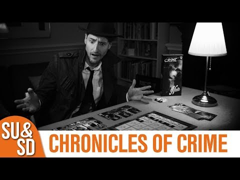 Chronicles of Crime and the Noir expansion - Shut Up & Sit Down Review