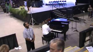 Jeffrey Cain playing Prelude in G Minor by Rachmaninoff at Kemper Arena