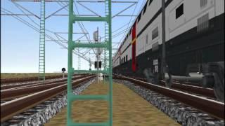 新VRM3★4番線出発到着スイス国鉄IC2000二階建客車 by 仮想ベルリン東駅.