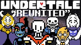 Undertale Remix - Reunited (Arcien Happy Hardcore Remix) Music Video from Hopes & Dreams - GameChops
