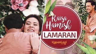 Raisa Resmi Dilamar Hamish Daud, Romantis & Bikin Fans Baper