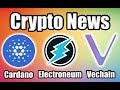 Electroneum instant payment LIVE | CNBC Features VeChain w/ Ted Danson | Cardano Wallet Update