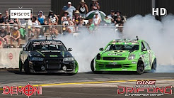 Demon Energy D1NZ Drifting Highlights: Round 3 - ASB Baypark, Tauranga 2015