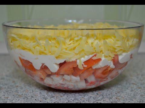 """Необычайно вкусный салат """"Красное море"""""""