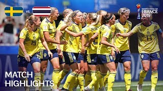 Download Sweden v Thailand - FIFA Women's World Cup France 2019™ Mp3 and Videos