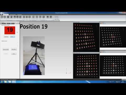 OptimScan-5M Metrology 3D Scanner Calibrating Process