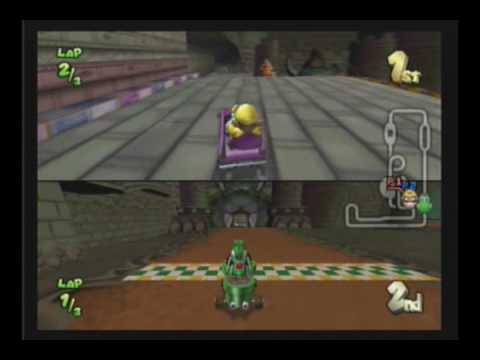Mario Kart Double Dash Glitch Bowser S Castle Shortcut