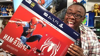 SPIDER-MAN PS4 Pro LIVE UNBOXING (Mirror Mode)