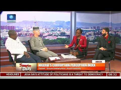 Analyst, Lawyer Disagree Over Corruption Perception Index On Nigeria Pt.2 |Sunrise Daily|