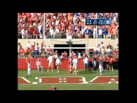 2005 Alabama vs. Florida Highlights