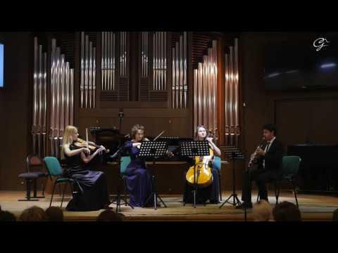 И.Мюллер - Квартет для кларнета и струнных 3я часть.Руслан Шмельков (кларнет Ателье Гончарова)