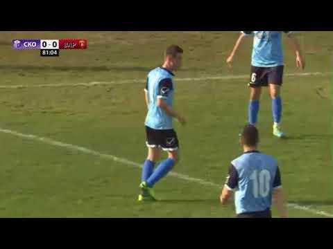 Скопје - Вардар 0-0 (Конфликт на Барсегјан со публиката во Автокоманда)